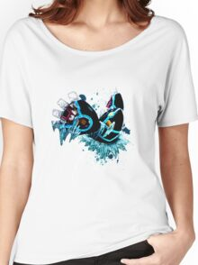 Genshi Kyogre (White Background) Women's Relaxed Fit T-Shirt