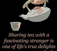 Sharing Tea - Iroh's Wisdom by AvatarSkyBison