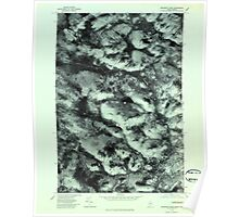 Maine USGS Historical Map Boundary Pond 806532 1977 24000 Poster