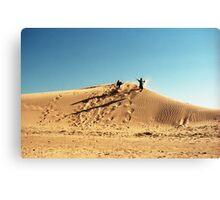 Dune Jump Canvas Print
