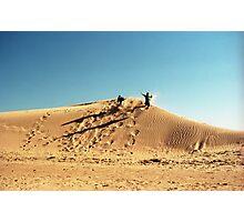 Dune Jump Photographic Print