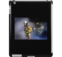 Firemen training iPad Case/Skin