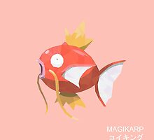 Magikarp Low Poly by meowzilla