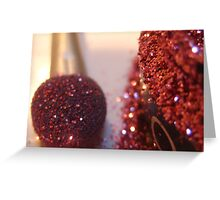 Makeup Series - Glitter Greeting Card