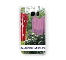 Happy Laundry Samsung Galaxy Case/Skin