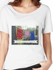 Happy Laundry Women's Relaxed Fit T-Shirt