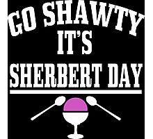 Sherbert Day Funny Geek Nerd Photographic Print