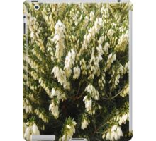 Lucky White Heather by Amber Feng Shui Art iPad Case/Skin