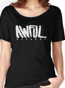 AWFUL Records Women's Relaxed Fit T-Shirt