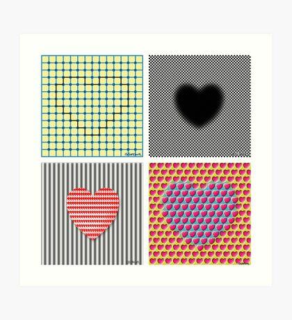 Is Love An Illusion? Art Print