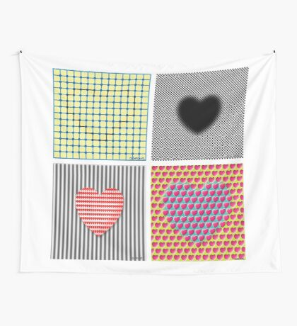Is Love An Illusion? Wall Tapestry