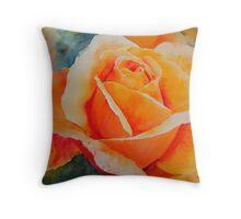 Apricot Throw Pillow