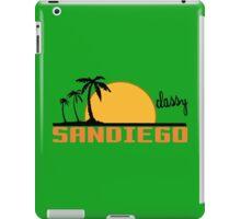 STAY CLASSY SAN DIEGO Funny Geek Nerd iPad Case/Skin