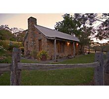 Dusky Cottage Photographic Print