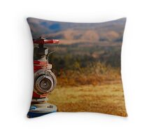 The Hydrant Throw Pillow