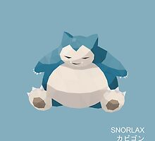 Snorlax Low Poly by meowzilla