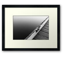 Deeper Water Framed Print