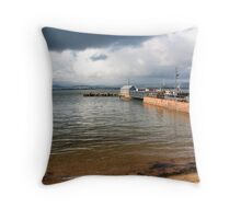 Cromarty Harbour Scotland Throw Pillow