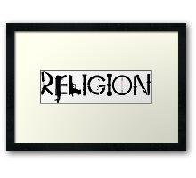Religion Large Framed Print