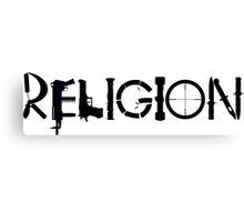 Religion Large Canvas Print
