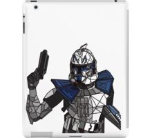 Captain Rex Geometric iPad Case/Skin