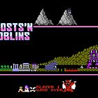 Ghosts n' Goblins by SlickVic