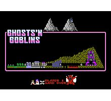 Ghosts n' Goblins Photographic Print