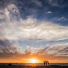 Sunset and People by nty6x