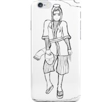 Haku (Uncoloured) iPhone Case/Skin