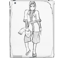 Haku (Uncoloured) iPad Case/Skin