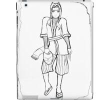Haku (Uncoloured) iPad Case/Skin