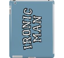 IRONIC MAN Vintage White iPad Case/Skin