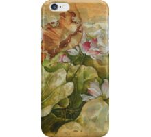 """""""Goodnight Fairytale"""" from the series """"In the Lotus Land"""" iPhone Case/Skin"""