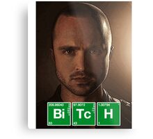 Jesse Pinkman Breaking Bad - Cartoon Metal Print