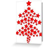 Christmas Tree of Stars Greeting Card