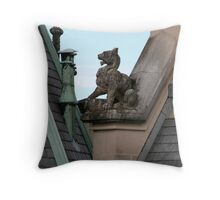 Rooftop at Biltmore Throw Pillow