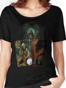 Solas Tarot Card Trilogy Women's Relaxed Fit T-Shirt