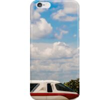 Monorail Red iPhone Case/Skin