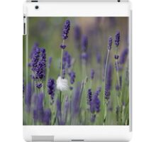 Feather caught in Lavender iPad Case/Skin