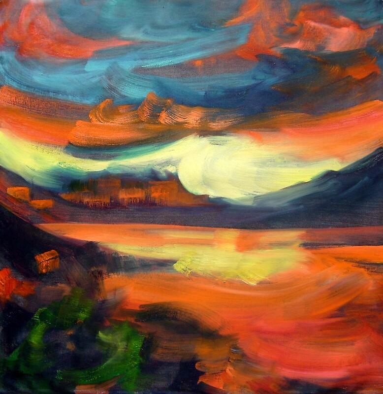 Landscape 1008 by Nurhilal Harsa