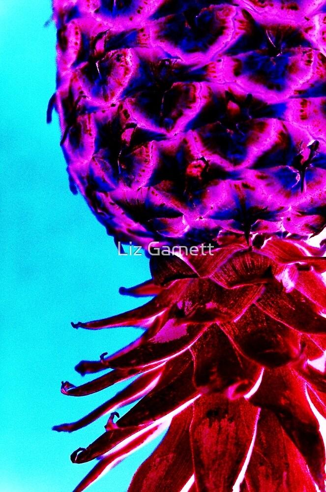 Pineapple - UK615/31 - www.lizgarnett.com by Liz Garnett