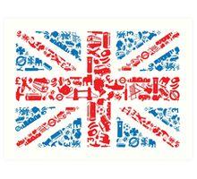 British and Proud Art Print