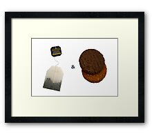 Tea & Biscuits Framed Print