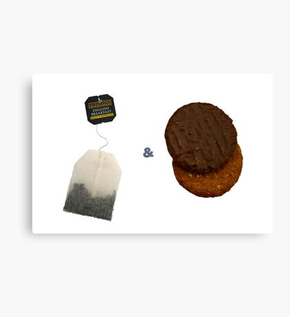 Tea & Biscuits Canvas Print