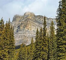 Banff's Castle Mountain by Dyle Warren
