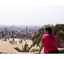 Gaudi Park Photographic Print