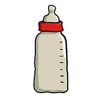 Baby bottle by substrat