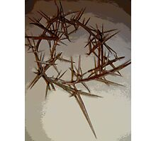 A Crown of Thorns out of Real ones Photographic Print