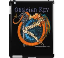Obsidian Key - SLY Dragon - Progressive Rock Metal Music - Epic Style - (Branded) iPad Case/Skin