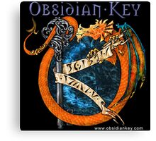Obsidian Key - SLY Dragon - Epic Style - (Branded) Canvas Print